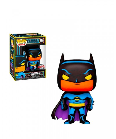 Special Edition Batman Black Light Glow DC MUñeco Funko Pop! Vinyl [369]