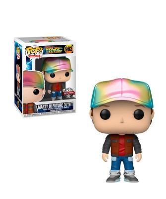 Special Edition Marty in Future Outfit Back to the Future Muñeco Funko Pop! Vinyl [962]