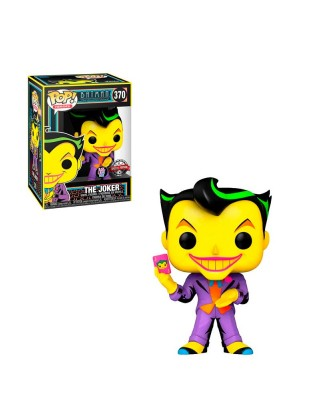 Special Edition Joker Black Light Glow DC Muñeco Funko Pop! Vinyl [370]