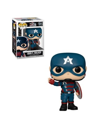 John F. Walker The Falcon and the Winter Soldier Marvel Muñeco Funko Pop! Bobble Vinyl [811]