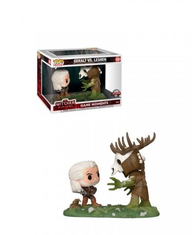 Geralt vs Leshen The Witcher Wild Hunt Game Moments Muñeco Funko Pop! Vinyl [555]