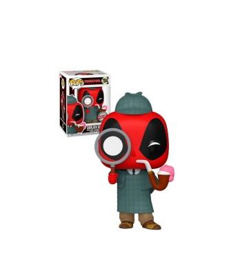 Special Edition Deadpool Sherlock  Marvel Muñeco Funko Pop! Bobble Vinyl [784]