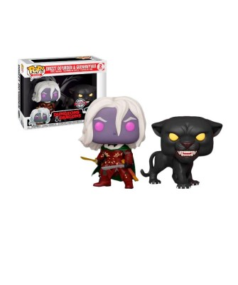 Special Edition Drizzt Do'Urden & Guenhwyvar Dungeons and Dragons 2Pack Muñeco Funko Pop! Vinyl