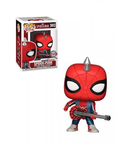 Special Edition Spider-Punk Spider-Man Marvel GamerVerse Muñeco Funko Pop! Bobble Vinyl [503]