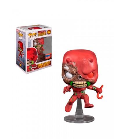 Fall Convention 2020 Zombie Daredevil Marvel Zombies Muñeco Funko Pop! Bobble Vinyl [666]