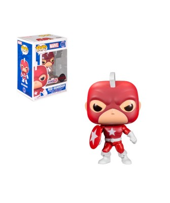 Special Edition Red Guardian Year of the Shield Marvel Muñeco Funko Pop! Bobble Vinyl [810]
